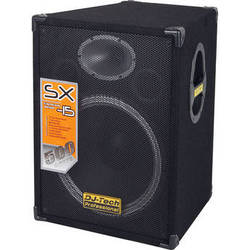 "DJ-Tech SX-15 15"" 2-Way PA Loudspeaker"