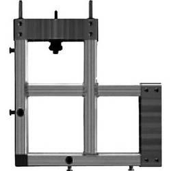 "Draper 383479 StageScreen Corner Section (14.25 x 8"", Black)"