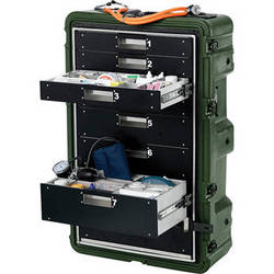 Pelican Hardigg MC8100 Medchest 8 Drawer for Emergency Response Supplies