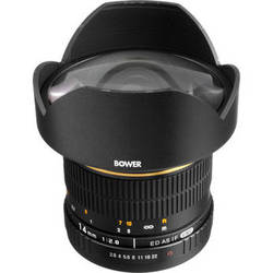 Bower 14mm f/2.8 Ultra Wide Angle Manual Focus Lens for Sony/Minolta DSLRs