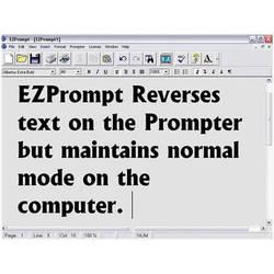 Listec Teleprompters EZPrompt Teleprompting Program