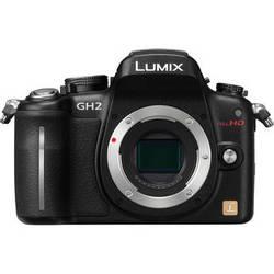 Panasonic Lumix DMC-GH2 Mirrorless Micro Four Thirds Digital Camera (Black)