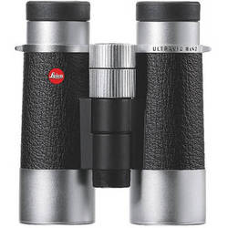 Leica Silverline 8x42 Compact Binocular (Silver and Black)