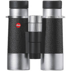 Leica Silverline 10x42 Binocular (Silver and Black)