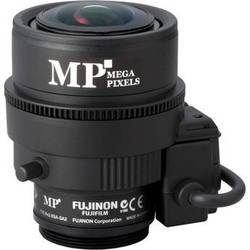 "Fujinon Varifocal Lens (2.8-8mm, 2.8x Zoom) w/Long Iris Cable (9.1""/230mm)"