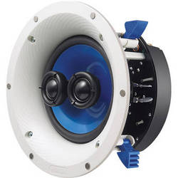 """Yamaha NS-ICS600 6.5"""" Single Stereo In-Ceiling Speaker (White)"""