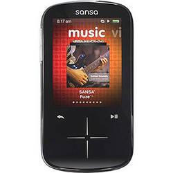 SanDisk 4GB Sansa Fuze+ MP3 Player Black