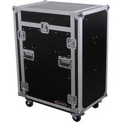 Odyssey Innovative Designs FZ1316WDLXII Flight Zone DLX II Combo Rack Case