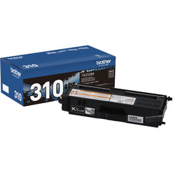 Brother TN310BK Black Toner Cartridge