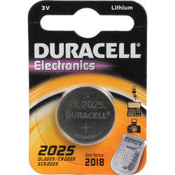 Duracell CR2025 3V Lithium Battery (160MAh)