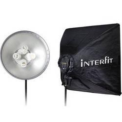 Interfit Super Cool-lite 4 One-Head Fluorescent Kit (120VAC)