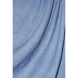 Savage Reversible Sky Blue Washed Muslin Backdrop (10 x 24')
