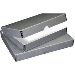 "Lineco Folio Storage Box (9 x 12"", Gray)"