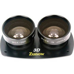 Zunow WDA-06P Kit 3D Wide Angle Conversion Lens