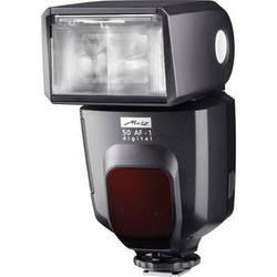 Metz mecablitz 50 AF-1 TTL Shoe Mount Flash for Canon DSLR