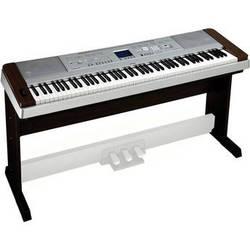 Yamaha DGX-640 Portable Grand Piano Keyboard (Walnut)