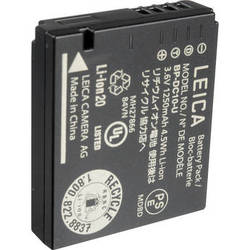 Leica BP-DC 10 Li-Ion Battery for the Leica D-Lux 5, D-Lux 6 Camera (1250 mAh)