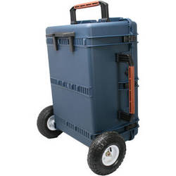 Porta Brace PB-2780RX Hard Case with Foam Interior and Extreme Off-Road Wheels (Blue)