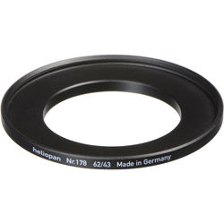 Heliopan 43-62mm Step-Up Ring (#178)