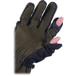 AquaTech Sensory Gloves (Large, Black/Moss)