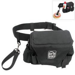 Porta Brace ACB-3B Assistant Camera Pouch with Belt (Large, Midnight Black)