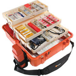 Pelican 1460EMS Case with EMS Organizer/Divider Set (Orange)