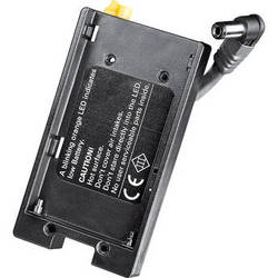 Dedolight DLOBML-PBC1 Ledzilla-Series Battery Shoe for Canon LP-E6 Battery