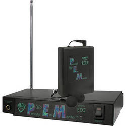 Nady EO3 Wireless In-Ear Personal Monitoring System (Channel AA: 72.1MHz)