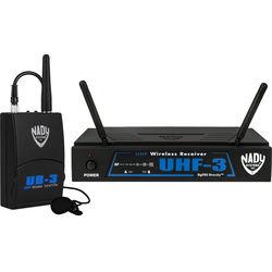 Nady UHF-3 UHF Wireless Lavalier Microphone System