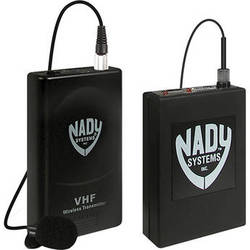 Nady 351VR VHF Wireless Lavalier Microphone System