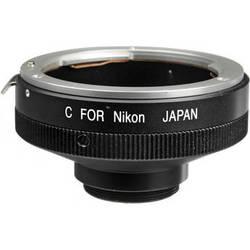 "Century Precision Optics LA-NICJ Nikon F to ""C"" Mount Adapter"