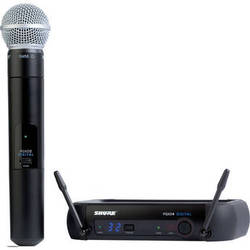 Shure PGXD Digital Series Wireless Handheld Microphone System with SM58 Capsule