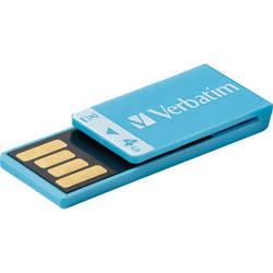 Verbatim 4GB Clip-It USB Flash Drive (Blue)