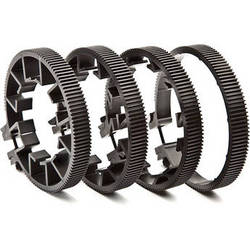 Redrock Micro microLensGears Kit - 4 Gears (Black)