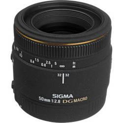 Sigma 50mm f/2.8 (D) EX DG Macro Autofocus Lens