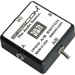 Sescom iPod Stereo Audio MP3 FLAC WMA Player A/B Switch 3.5mm (1/8)