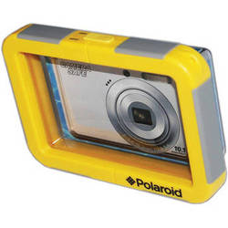 Polaroid Waterproof Camera Housing with Flat Front for Select Compact Point-and-Shoots