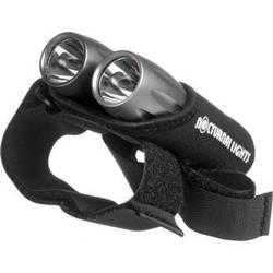 Nocturnal Lights Dual M2 LED Tactical Back-Up Dive Lights w/ Neoprene Hand Mount