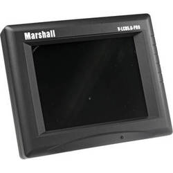 """Marshall Electronics V-LCD5.6PRO 5.6"""" Camera Mountable LCD Monitor with Power Supply"""