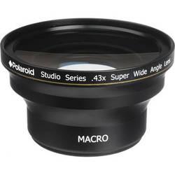 Polaroid Studio Series 52/58mm 0.43x HD Super Wide Angle Lens
