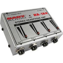 Nady HA-1X4 4-Channel Stereo Headphone Amplifier