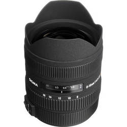 Sigma 8-16mm f/4.5-5.6 DC HSM Ultra-Wide Zoom Lens for Sigma Cameras