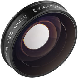 "Opteka Platinum Series 37mm 0.2x Low-Profile ""Ninja"" Fisheye Lens for Camcorders"