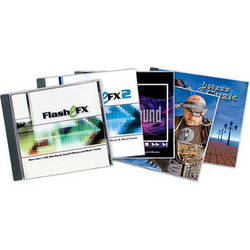 Sound Ideas Multimedia Combo Sound Effects & Royalty Free Music Collection - 5 CDs