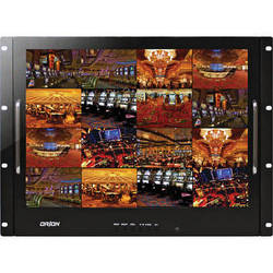 "Orion Images Rack Mount Ready Series 17"" Rack-Mountable LCD CCTV Monitor"