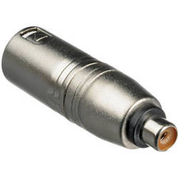 Hosa Technology GXM133 RCA to 3-Pin XLR Adapter