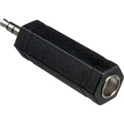 """Hosa Technology 1/4"""" TS Female to 3.5mm TRS Male Adapter"""