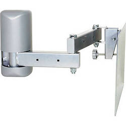 Video Mount Products LCD-2537 Multi-Configurable Mid-Size Flat Panel Articulating Wall Mount - Silver