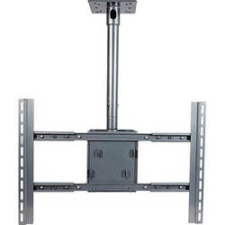 Video Mount Products PDS-LC Large Flat Panel Ceiling Mount - Silver