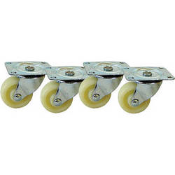Video Mount Products ER-CASTERS Equipment Rack Heavy Duty Caster Kit